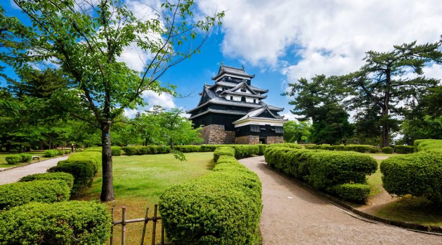 Il castello di Matsue