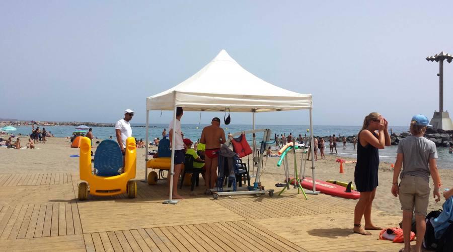 Assistenza in spiaggia
