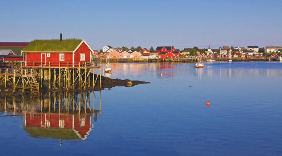 Villaggio di pescatori a Reine