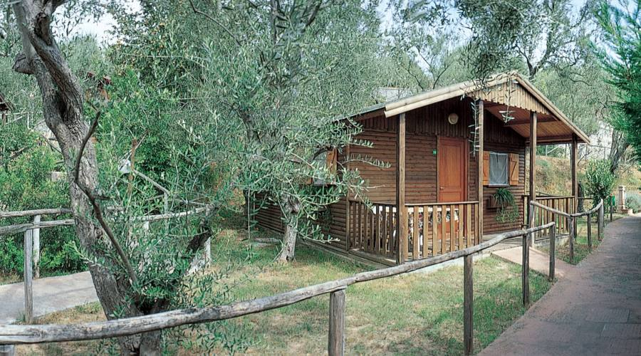 Bungalow in legno