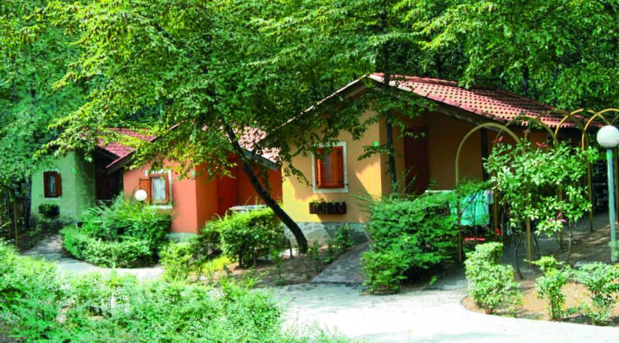 Un villaggio immerso nel verde
