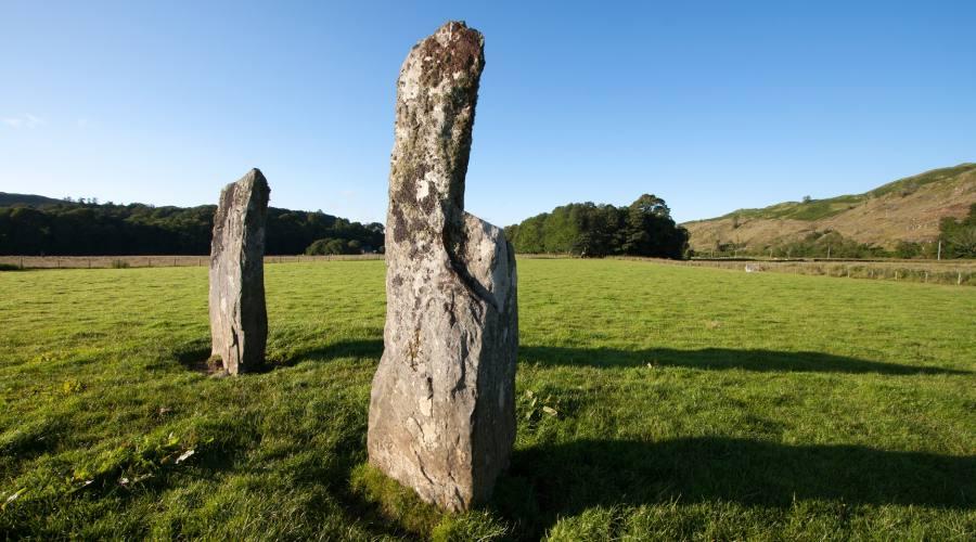 Scozia stele celtiche