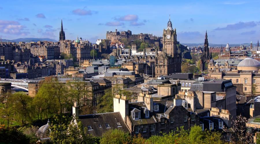 Edimburgo sguardo sulla città