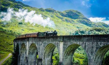 Tour scozzese in treno: viaggio di 13 giorni/12 notti