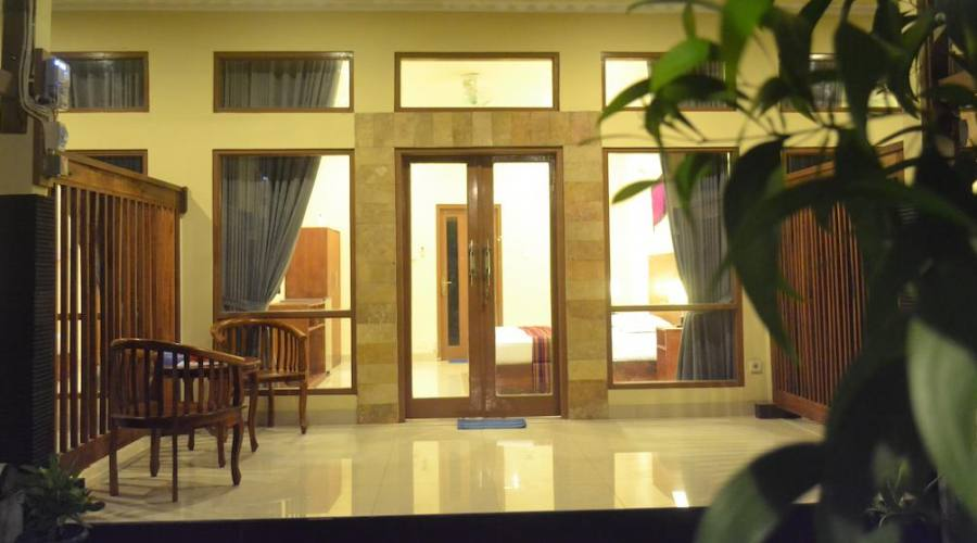 esterno della camera (hotel wisma bunda maria)