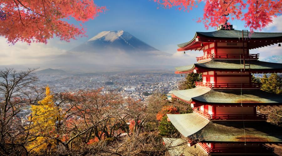 Monte Fuji Autunno