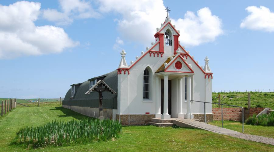 Isole Orcadi: cappella italiani