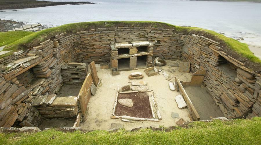 Skara Brae, sito neolitico sulle Isole Orcadi