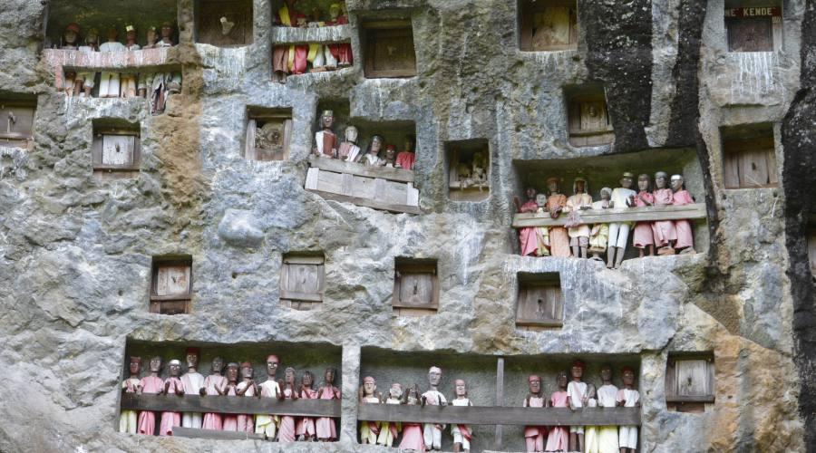 Il culto dei morti nella terra di Toraja