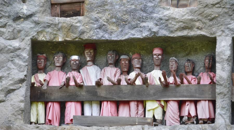 Terra di Toraja, il culto del morti