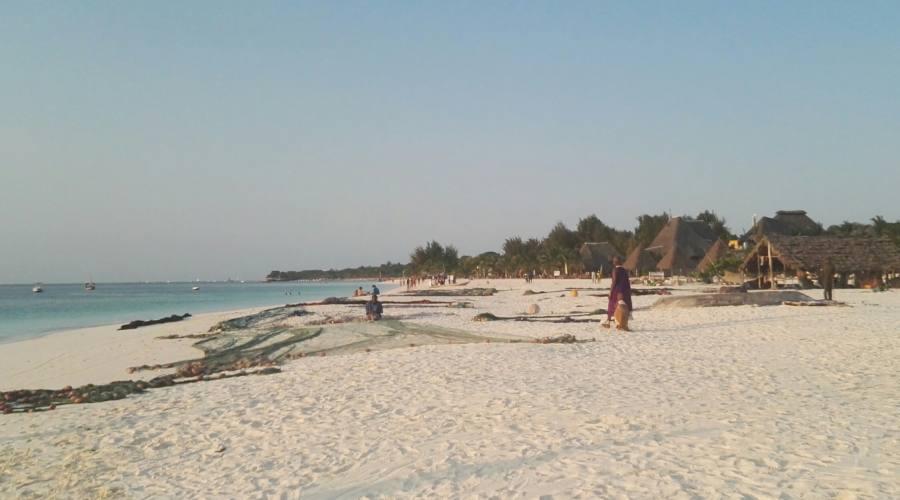 La spiaggia di Kendwa
