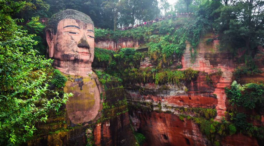 Leshan Grande Buddha