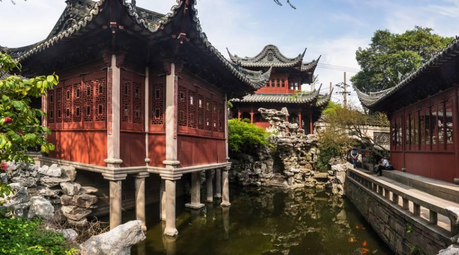 Shanghai Città Vecchia
