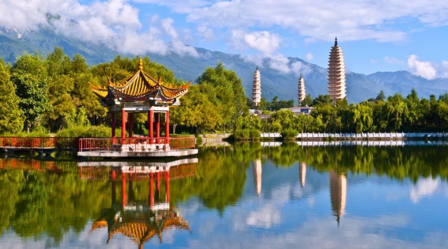 Pechino Giardino d'estate