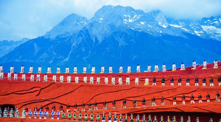 Lijiang - Rappresentazione minoranze etniche