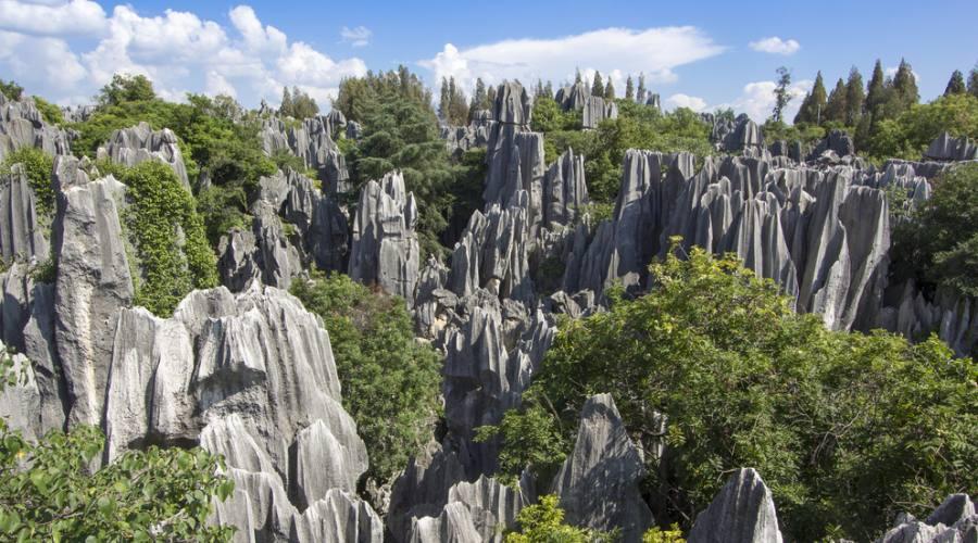 Kunming - Foresta di Pietra