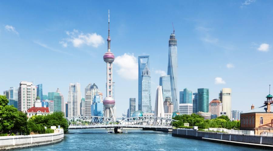 Shanghai - Vista sulla città