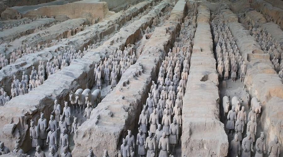 Xian - Esercito di Terracotta
