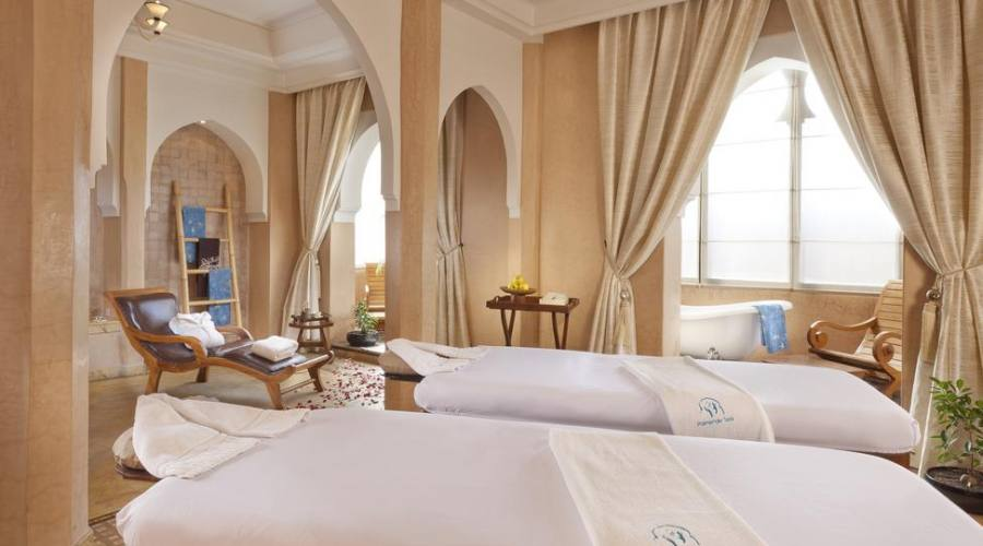 Area massaggi nella spa