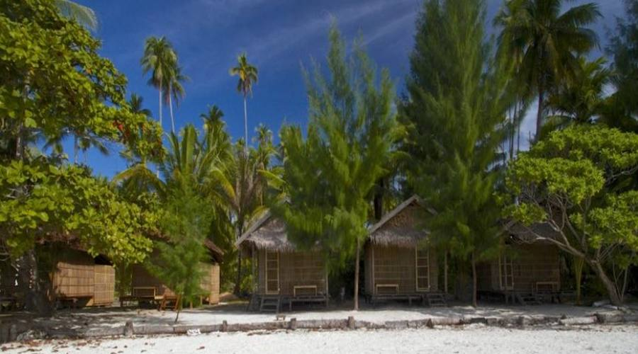 Papuan cottage esterno