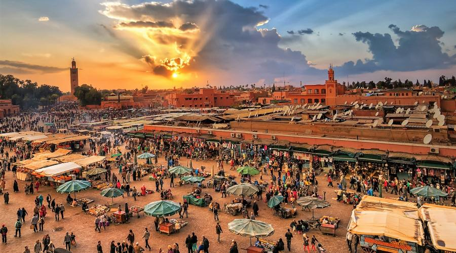 Piazza jemaa el-fna
