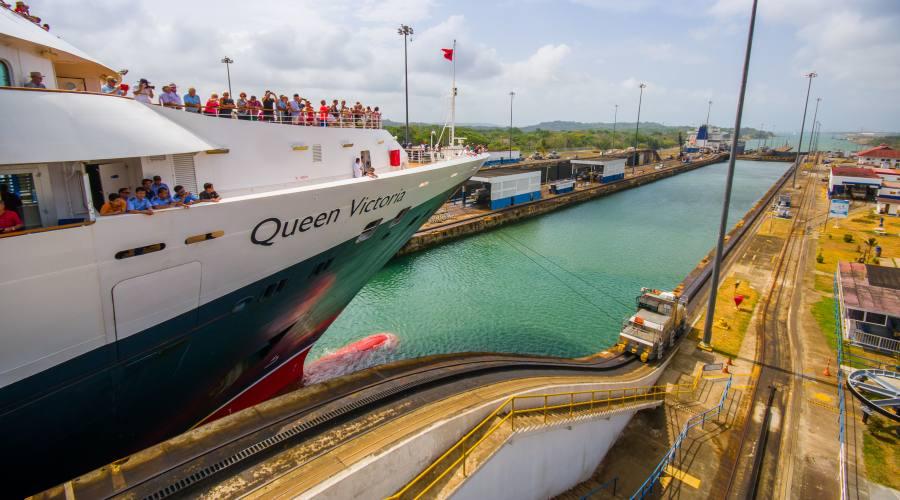 Panama City - le chiuse di Miraflores