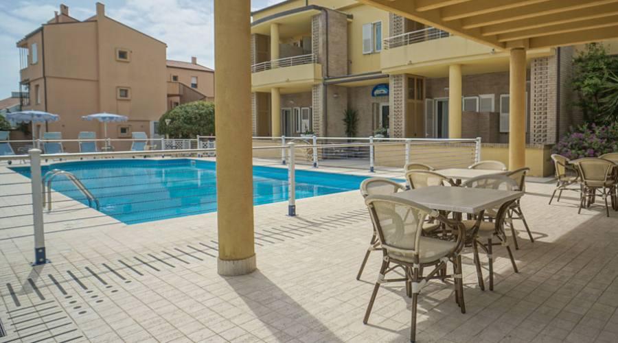 Veranda sulla piscina