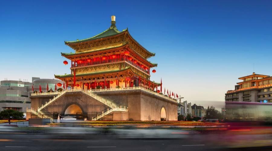 Xi'An Torre delle Antiche Mura