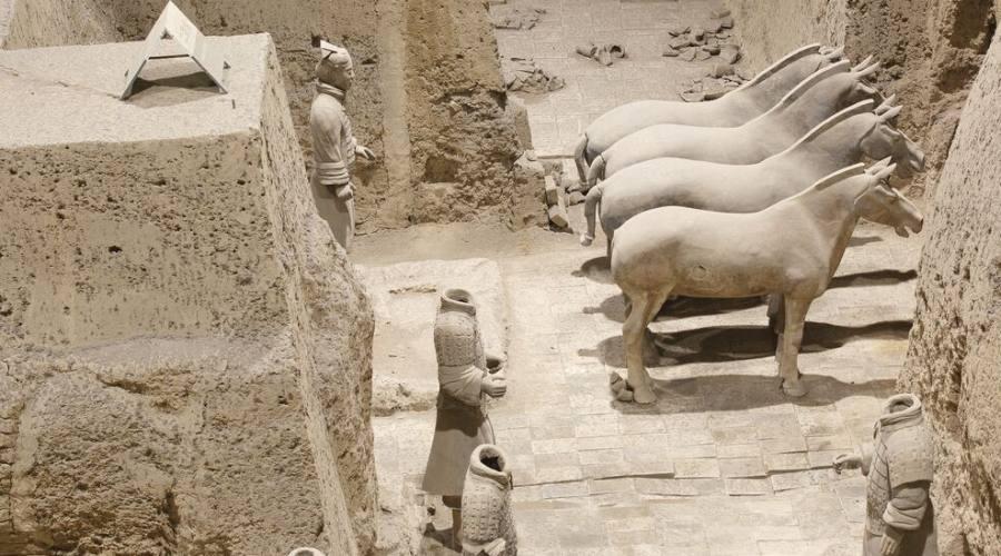 Xi'an Cavalli Esercito di terracotta