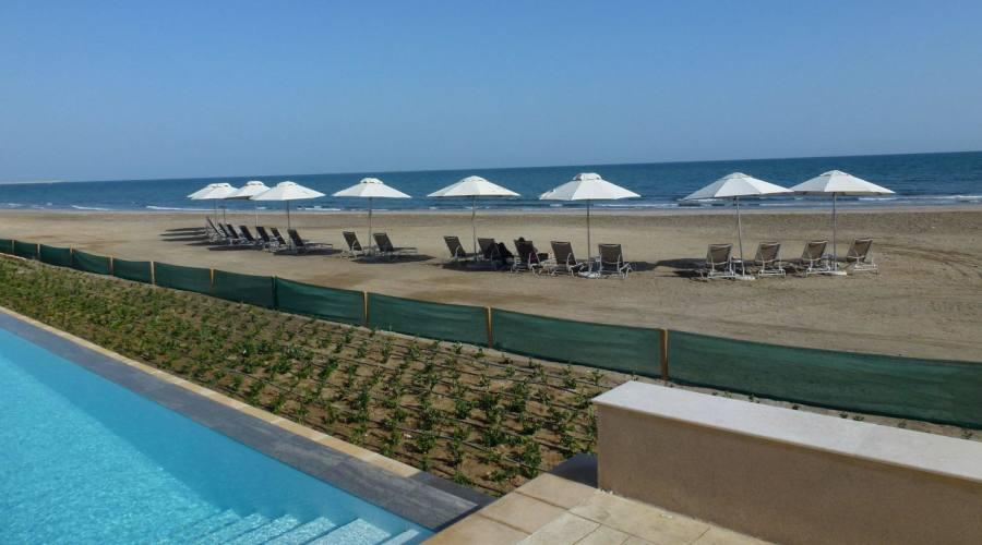 Hotel Millenium -piscina e spiaggia