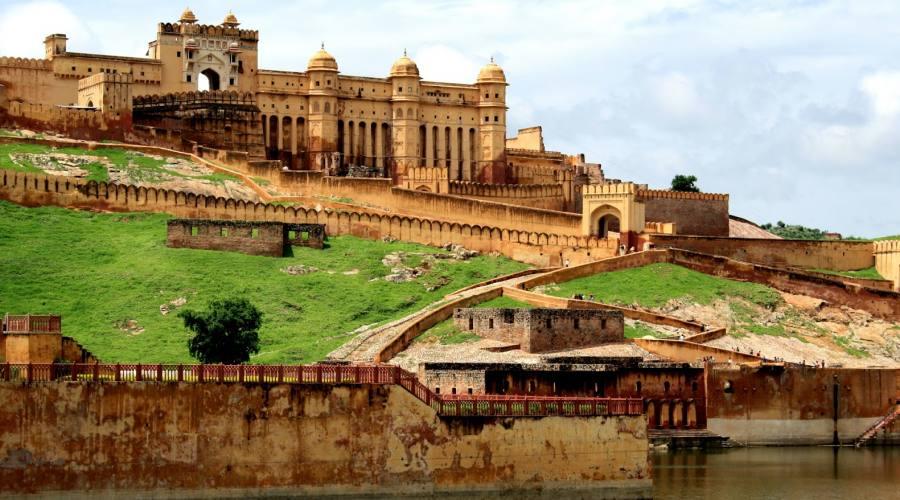 India Jaipur Fort Amber