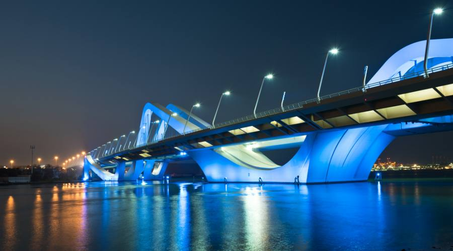 Abu Dhabi Sheikh Zayed Bridge