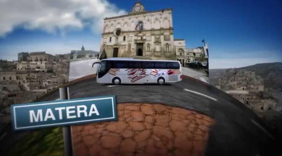 In bus verso Matera