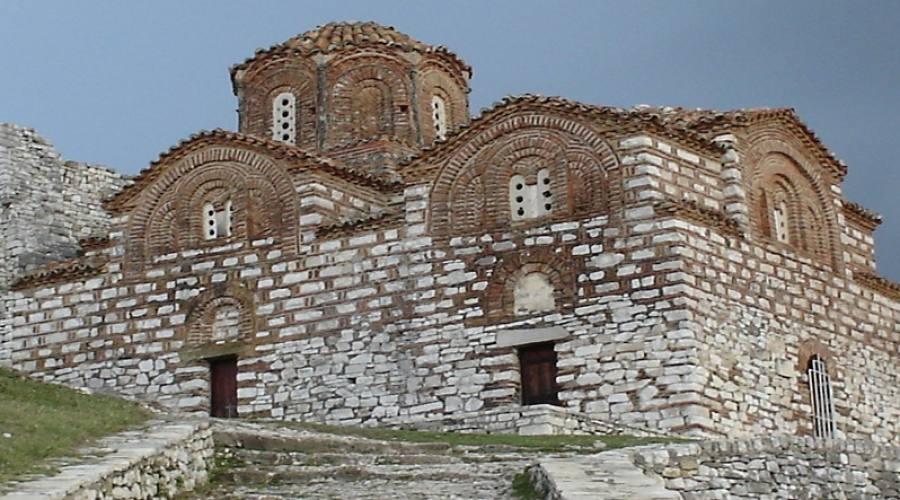 antica chiesa di Berat
