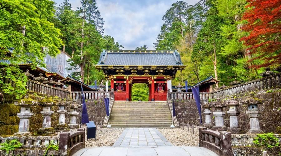 Il Futarasan jinja a Nikko