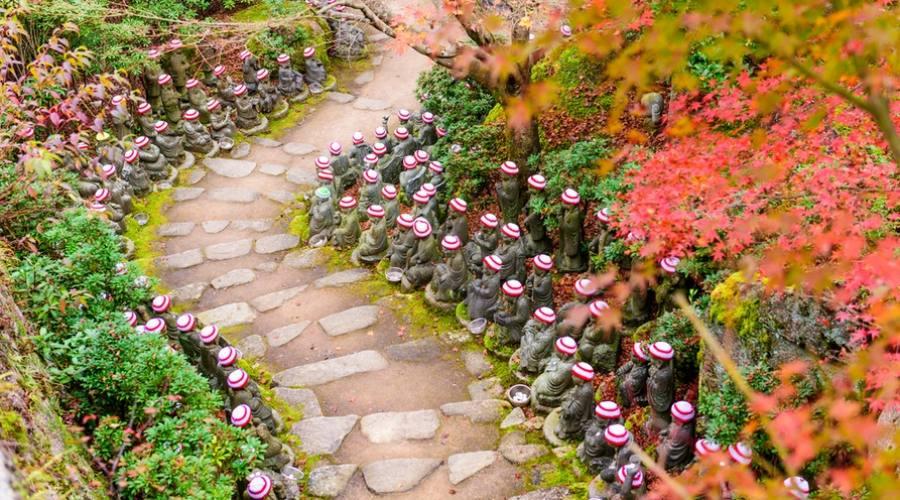 Il Tempio Daisho-in a Miyajima