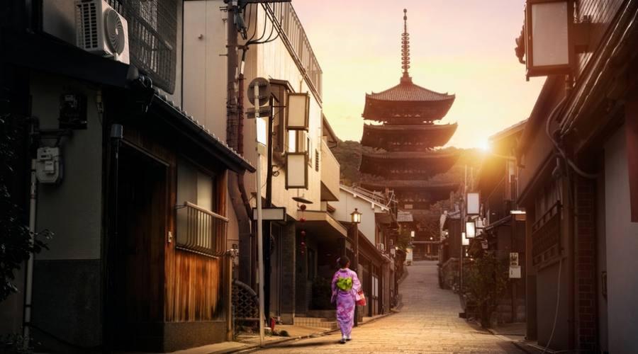 Yasaka Pagoda a Kyoto