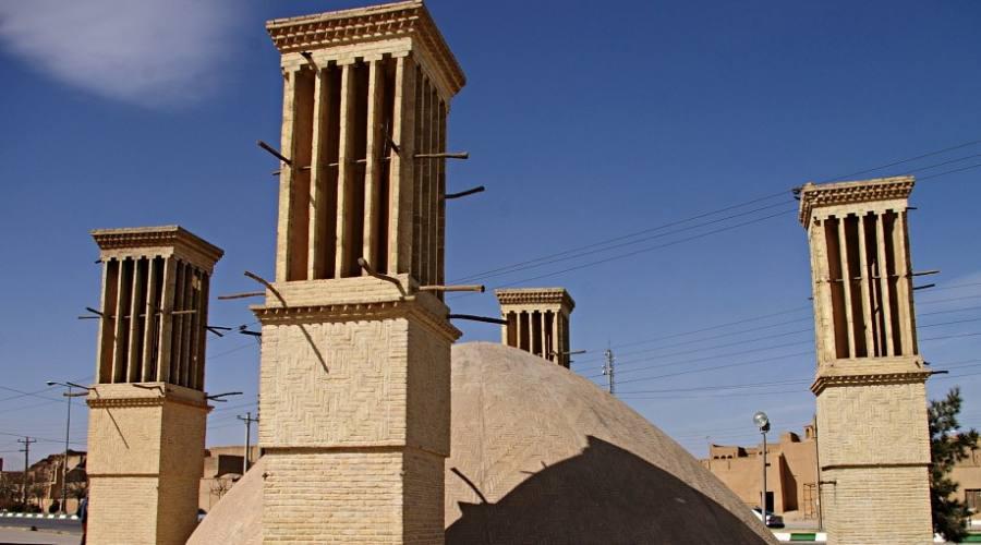 Yazd: le torri del vento