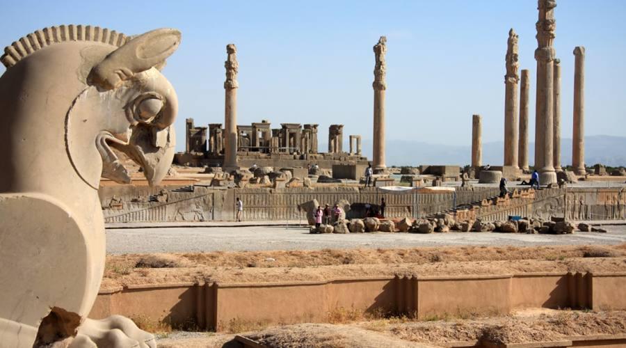Persepoli: dettagli del sito...