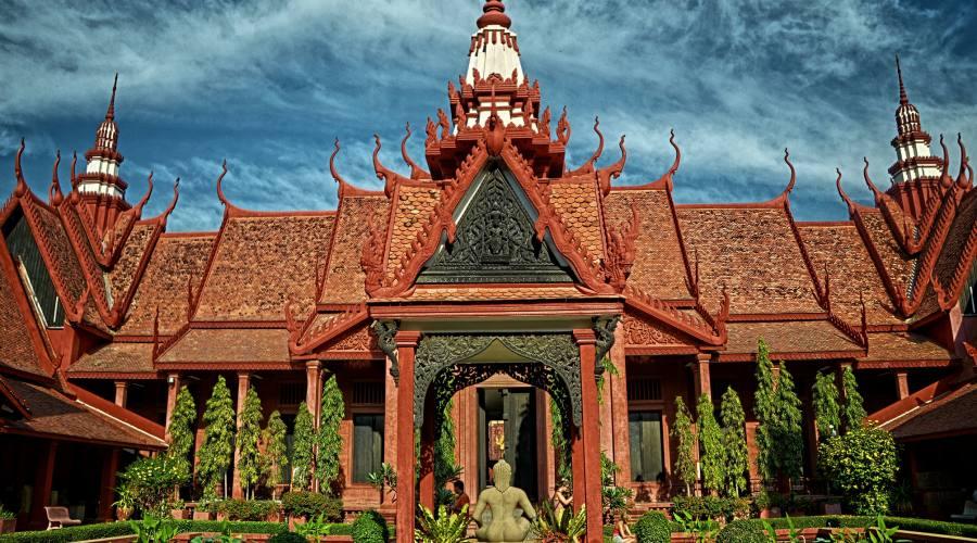 Palazzo a Phnom Phen