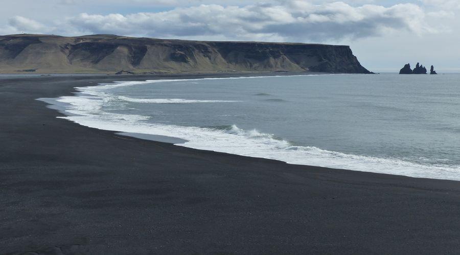 Spiagge nere di Vik