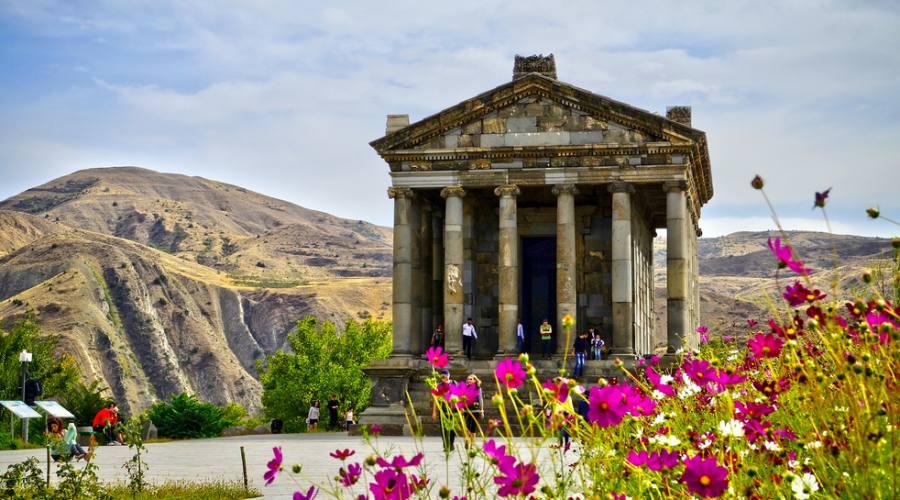 il Tempio di Garni Pagan