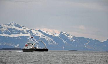 Navigazione invernale sui fiordi per osservare l'aurora boreale