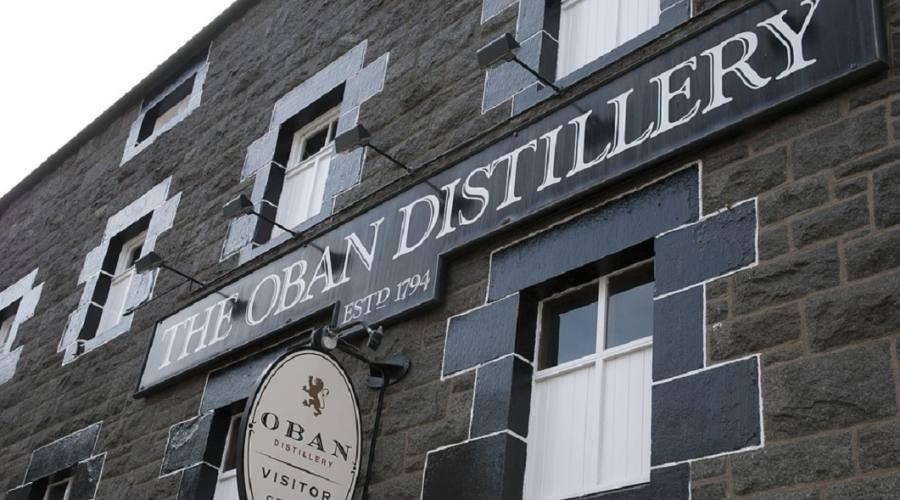 Oban. Distilleria