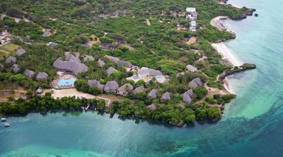 villaggio visto dall'alto