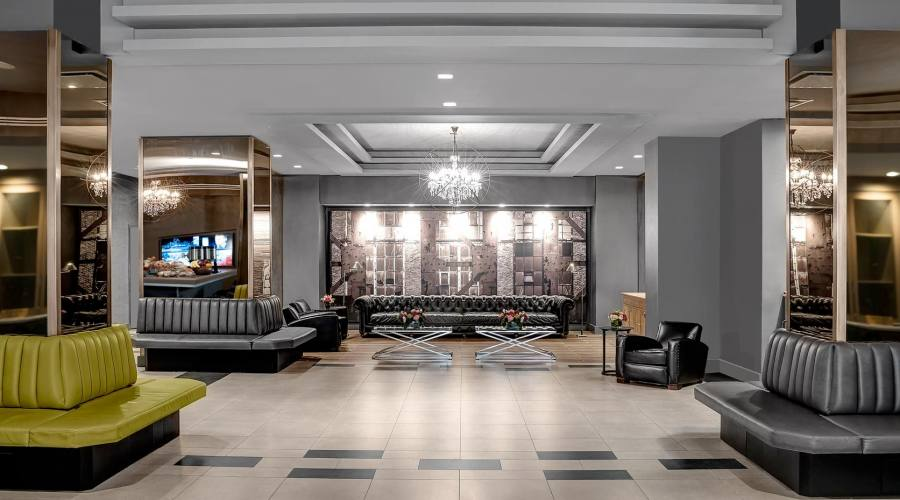 Lobby dell'Hotel di New York