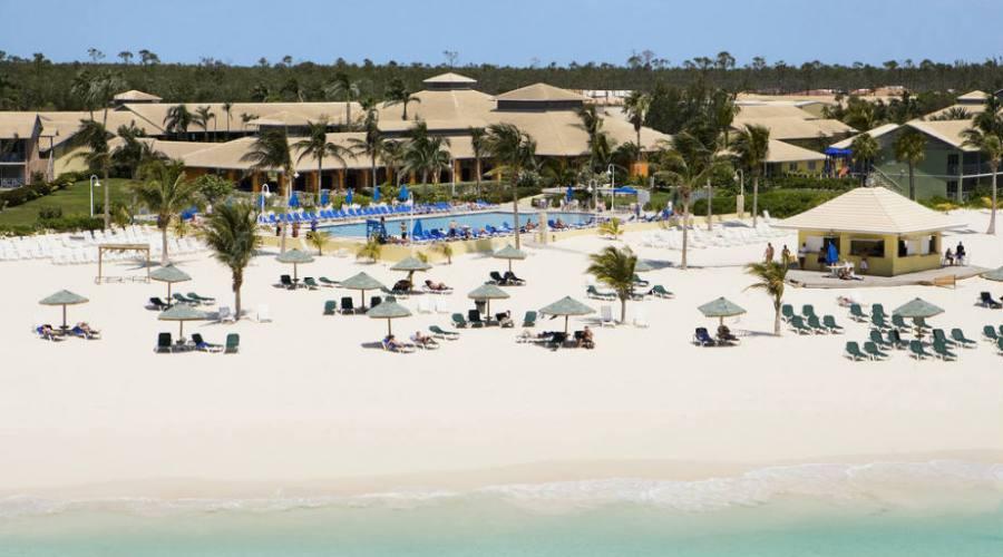 Veduta aerea dell'Hotel di Grand Bahama