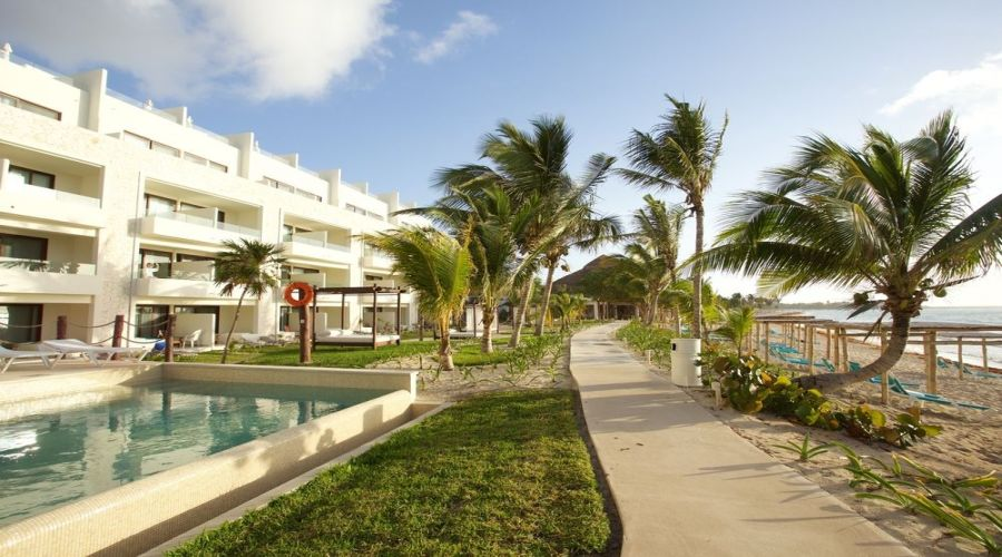 Akumal Bay-Beach&Resort: Camere vista Mare