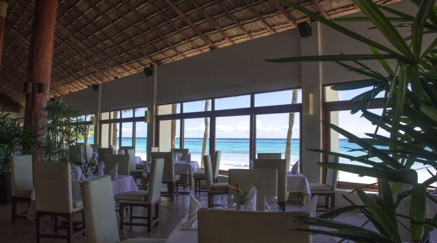 Akumal Bay-Beach&Resort: Ristorante a Buffet