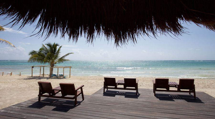 Akumal Bay-Beach&Resort: Spiaggia Privata